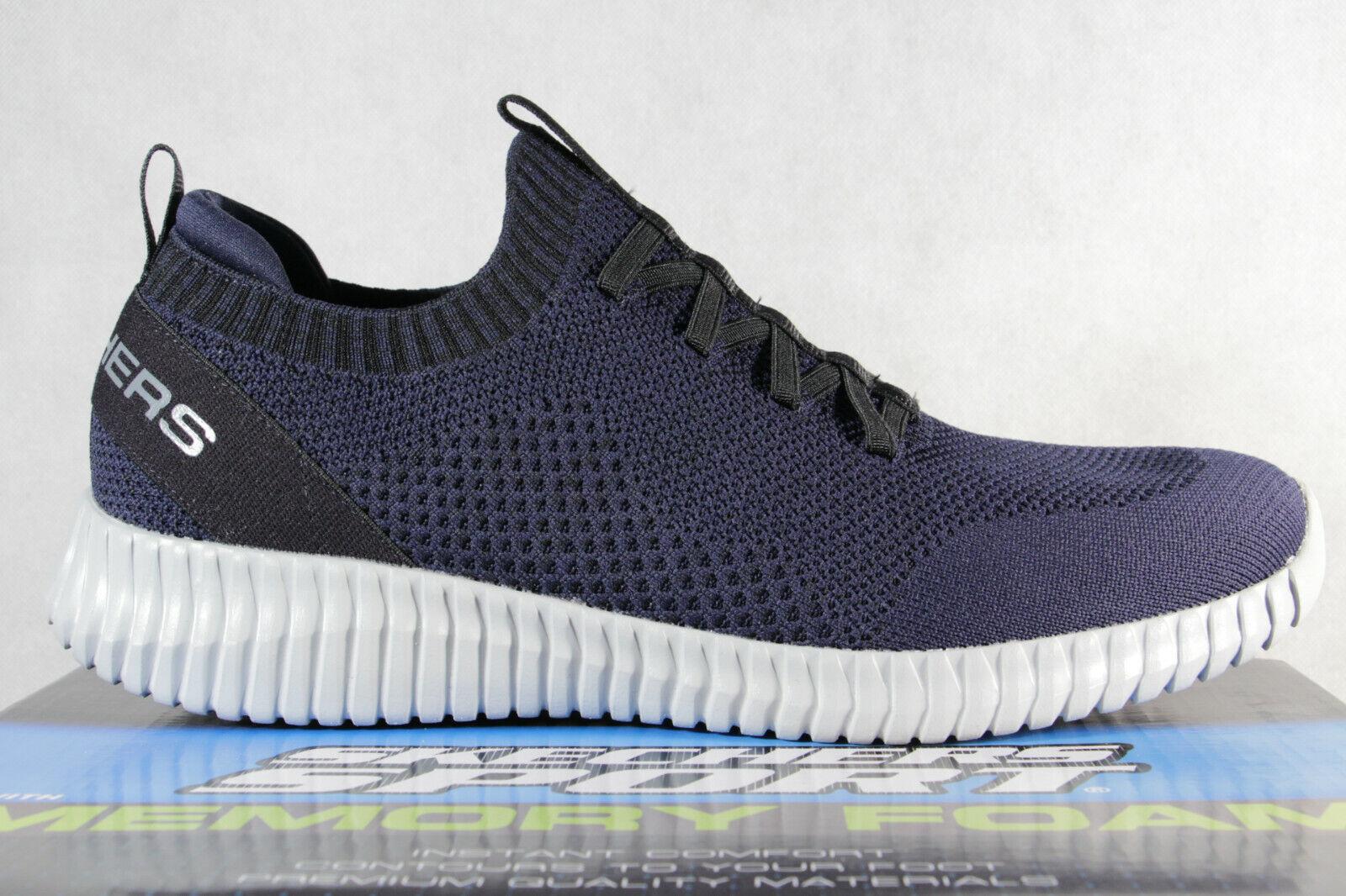 Skechers Herren Slipper Sneaker Sneakers Sportschuhe blau