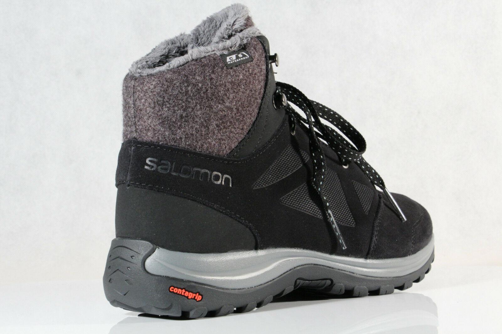 Salomon Ellipse Freeze CS WP Stiefel 406132 Boots schwarz CS