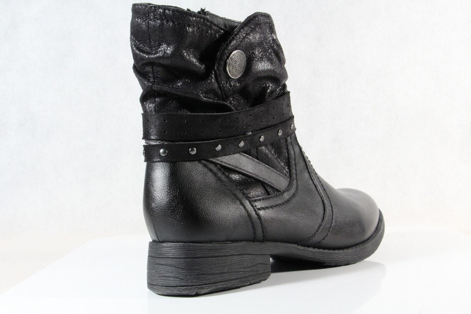 newest 6d42b c389b Jana Stiefel Winterstiefel Schnürstiefel Boots schwarz 25465 Weite H NEU
