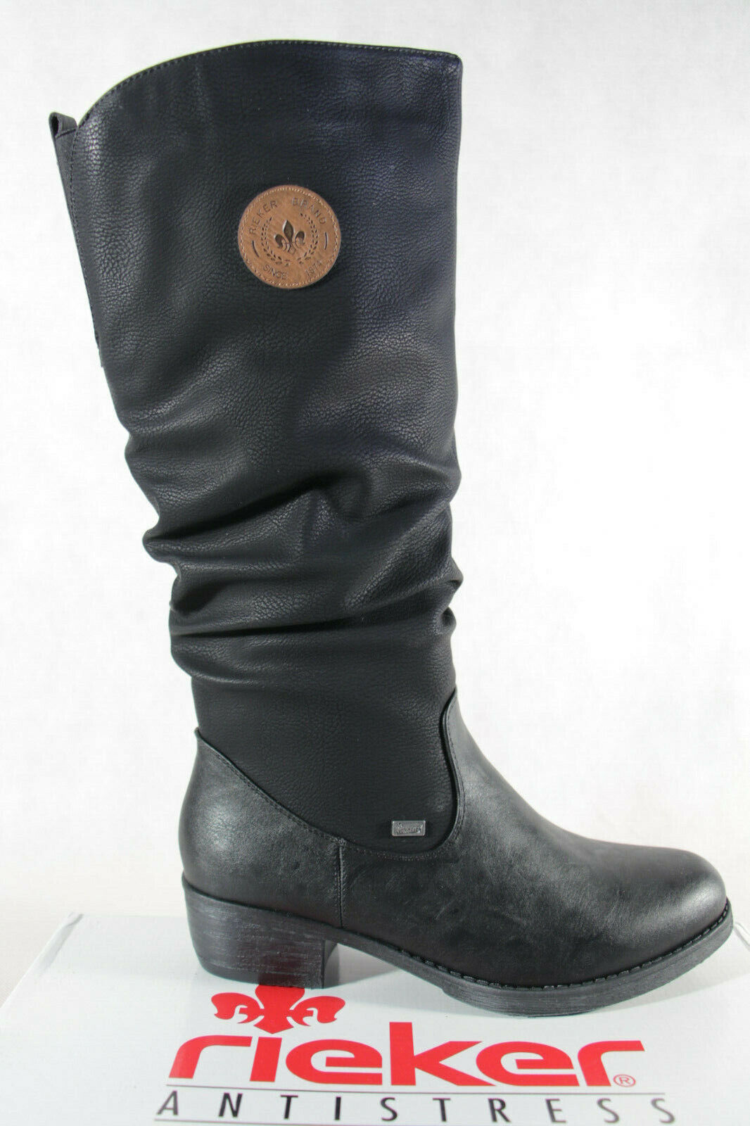 Rieker TEX Stiefel schwarz   Markenschuhe