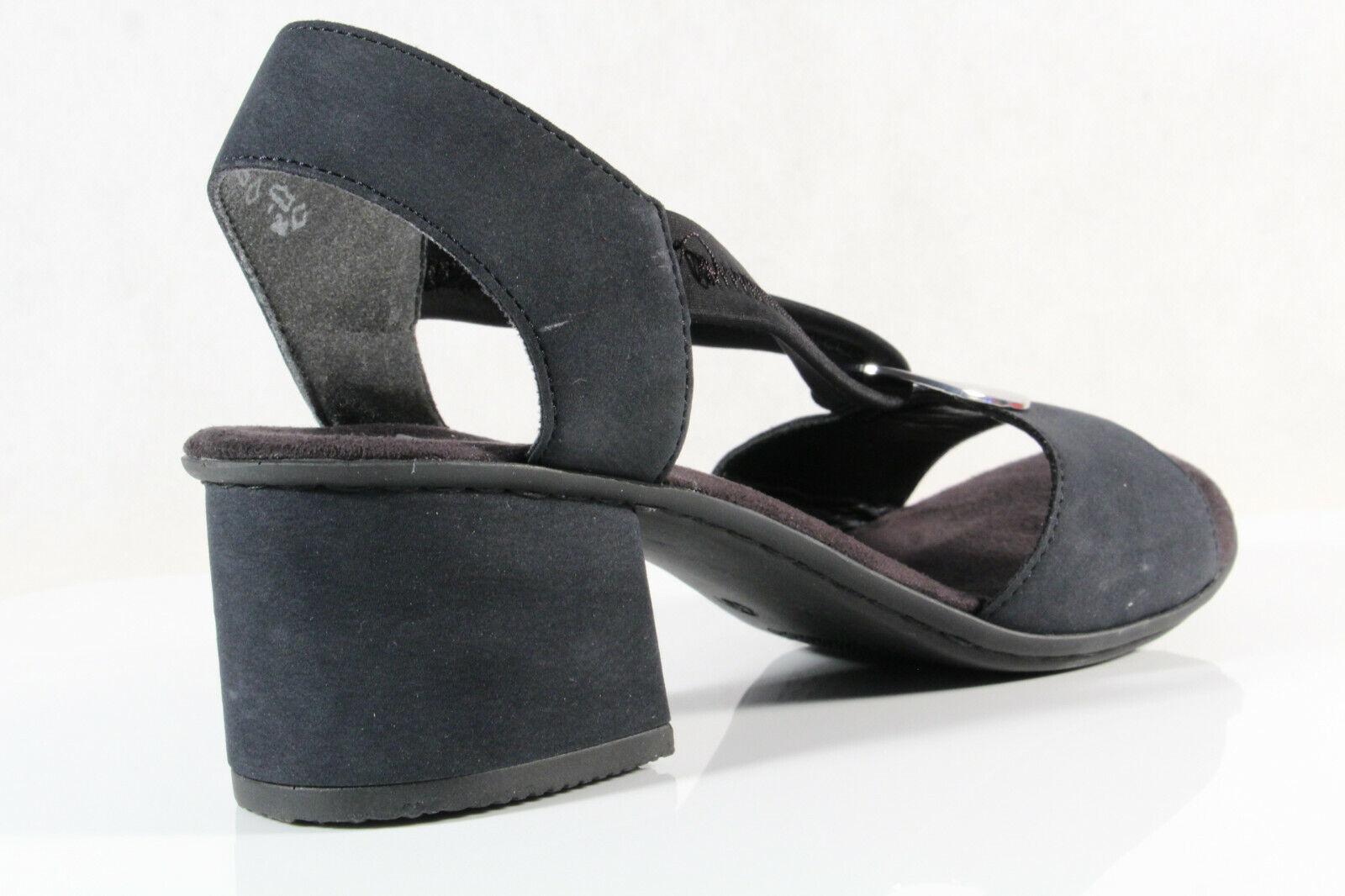 Rieker Damen Sandale Sandalette blau 63453 NEU!! Kaufen KrSIo