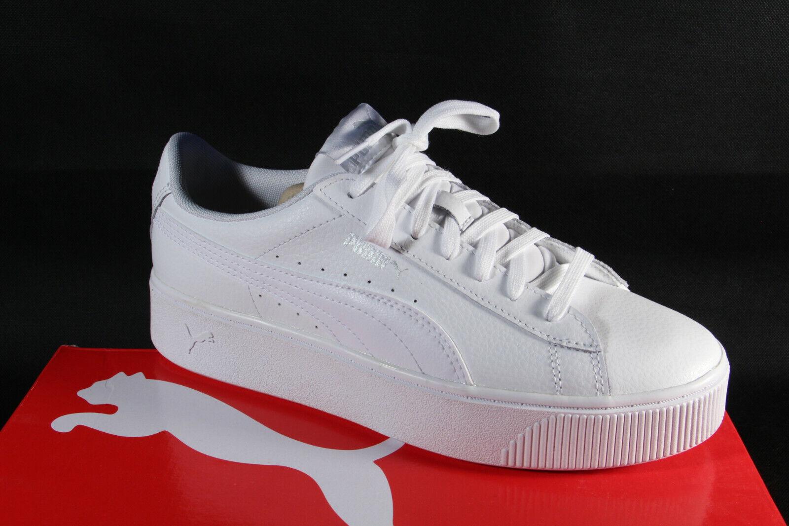 Puma Damen Schnürschuh Sneaker Slipper Sportschuh Halbschuh weiß 369143 Neu!