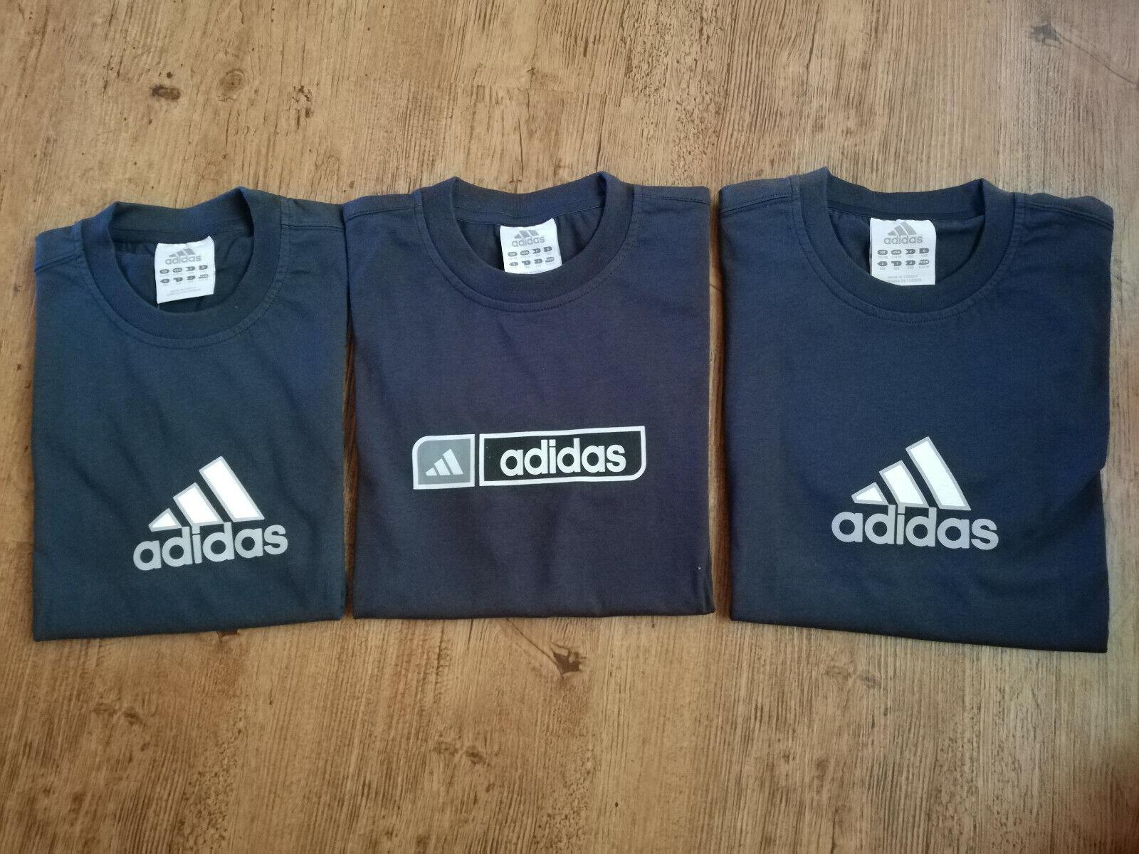 get cheap fast delivery 100% quality Adidas T-Shirts Set Jungen dunkel navy/schwarz Angebot Kinder Shirts Sport  NEU