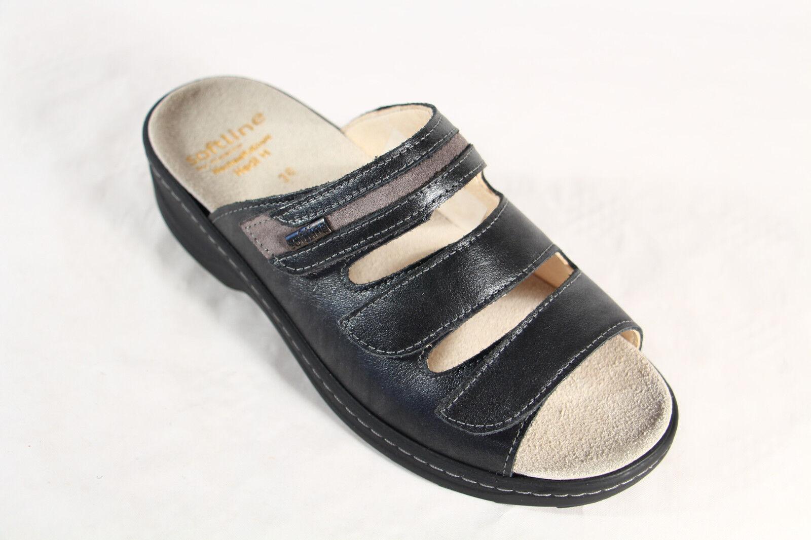 Fidelio Soft Line Damen Pantolette Pantoletten Pantoffel Echtleder 23423  NEU!