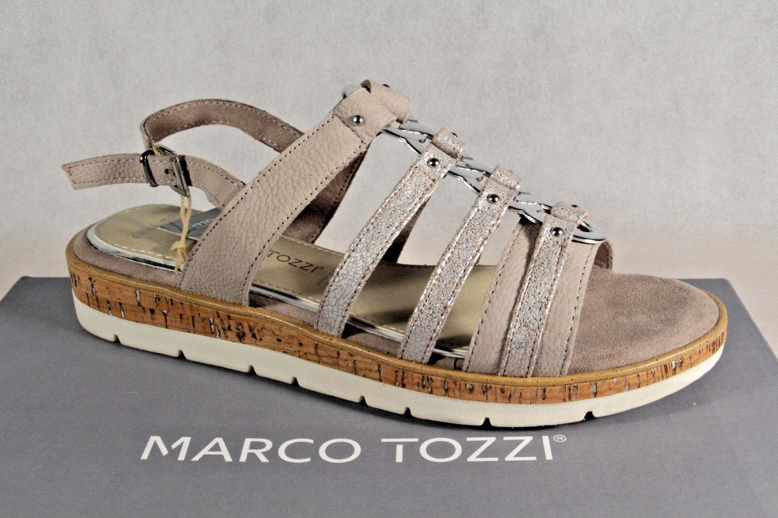 the best attitude 9bf0d 8758c Marco Tozzi Damen Sandalen Sandaletten taupe NEU!!