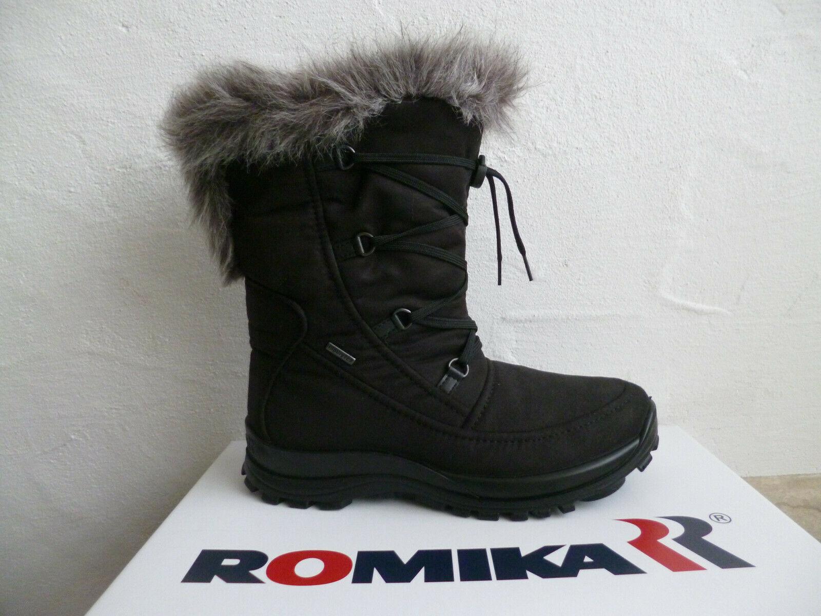 Romika Damen Stiefel Stiefeletten Boots 87002 Winterstiefel schwarz NEU!!