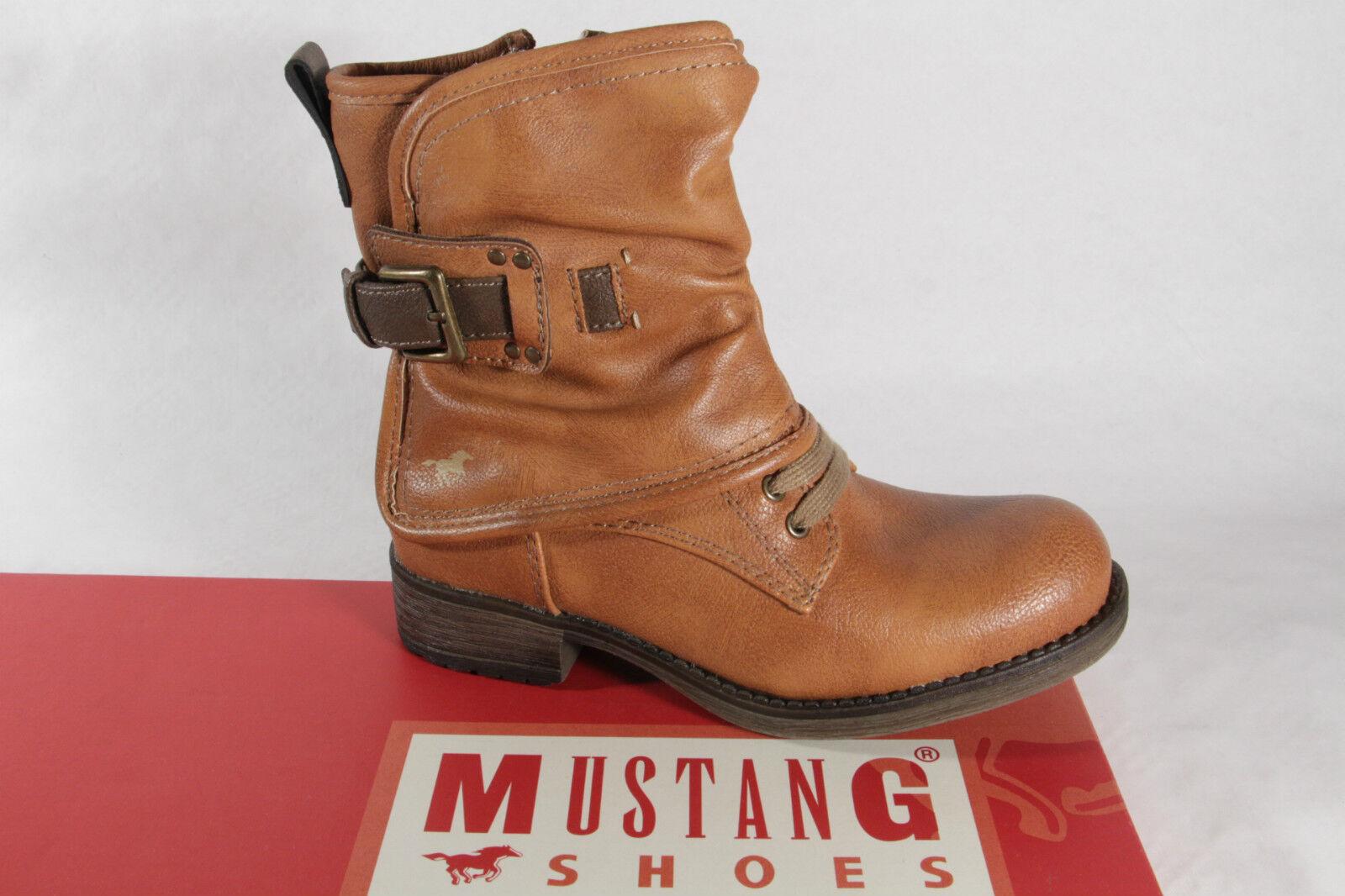 Mustang Stiefel Stiefelette Stiefeletten Stiefeletten Stiefeletten Winterstiefel Stiefel braun 5026 NEU 8f8d3b