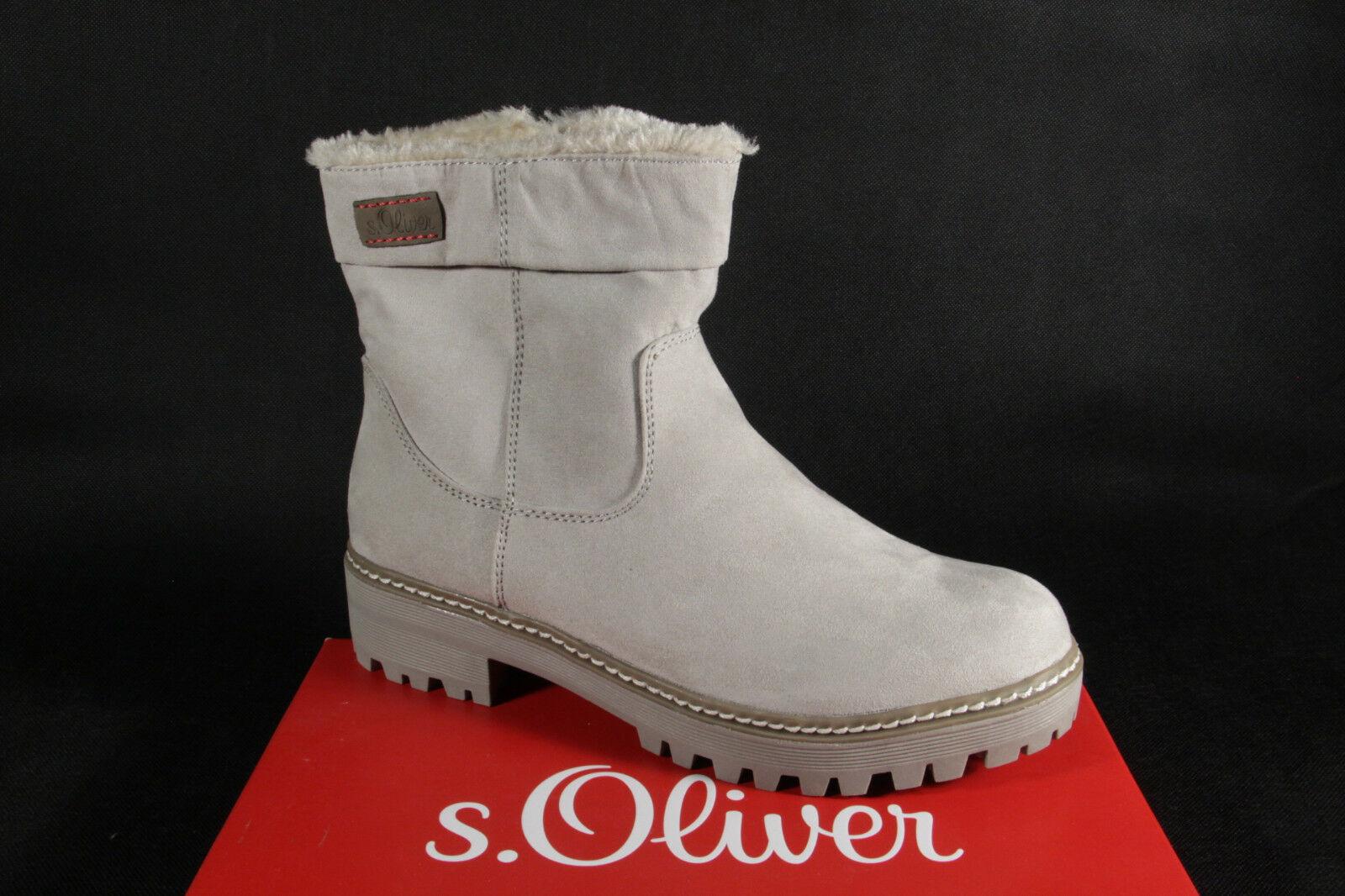 Damen S.Oliver Stiefel, 26475 NEU grau Winterstiefel Stiefel