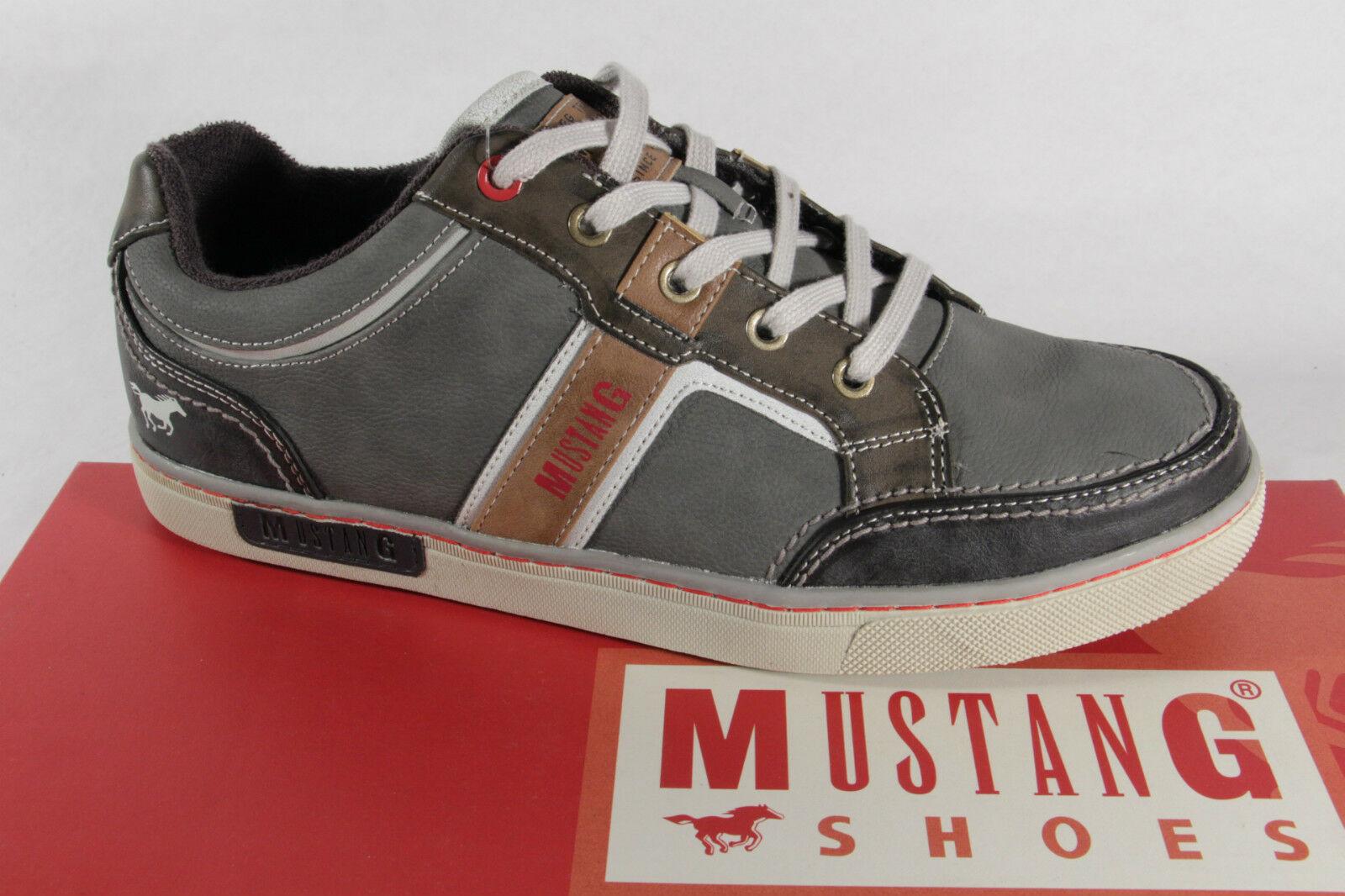 MUSTANG Herren Sneaker Grau | O46