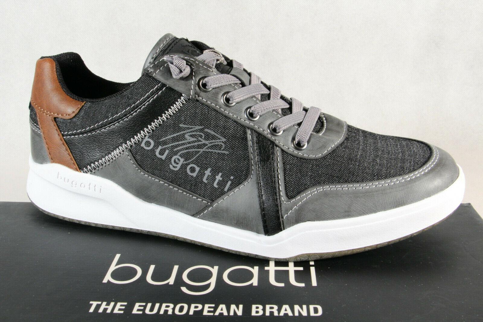 Bugatti Slipper Halbschuhe Turnschuhe Sportschuhe grau 65503 NEU