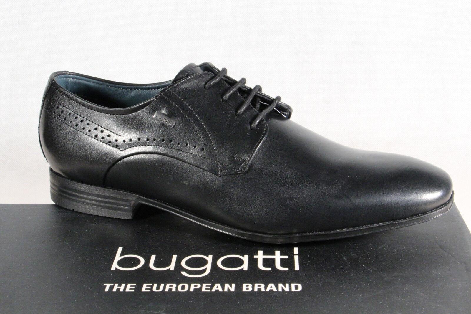 Bugatti Herren Schnürschuh Schnürschuhe Halbschuhe Sneaker schwarz NEU!