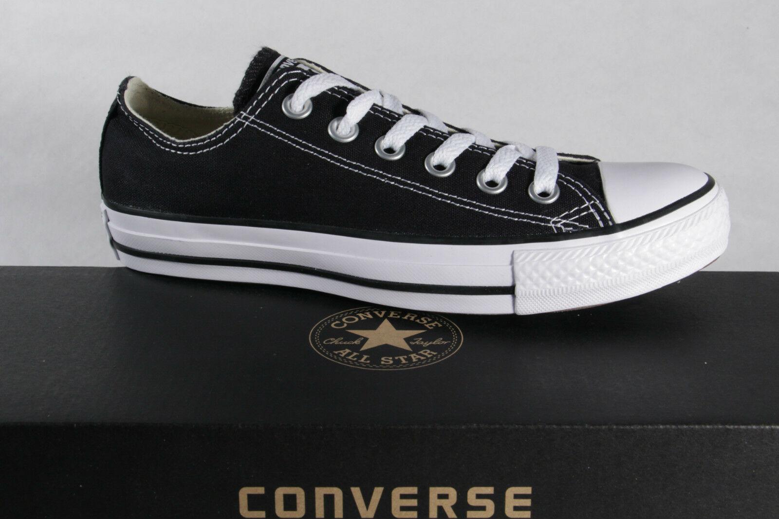 Converse All Star Schnürschuh Sneaker schwarz, TextilLeinen