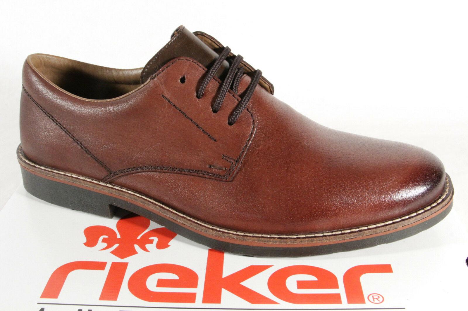 b47671d8291a Rieker 15323 Herren Schnürschuh Halbschuh Sneaker Leder braun NEU ...