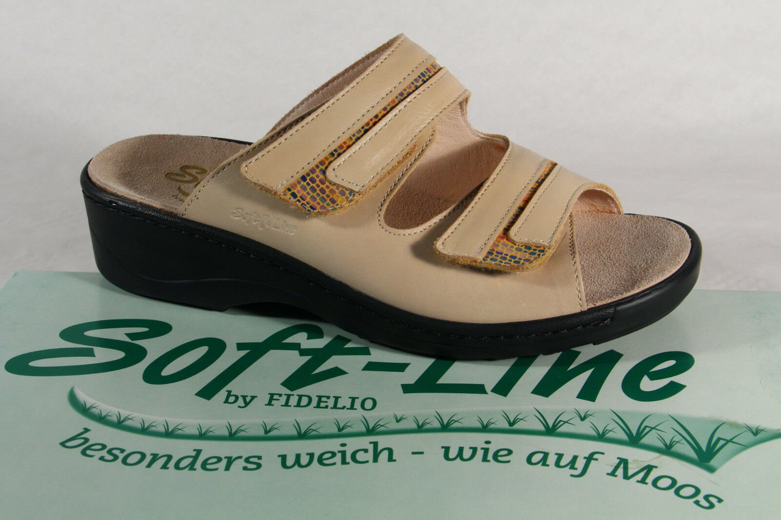 Fidelio Soft Line Damen Pantolette Pantoffel NEU