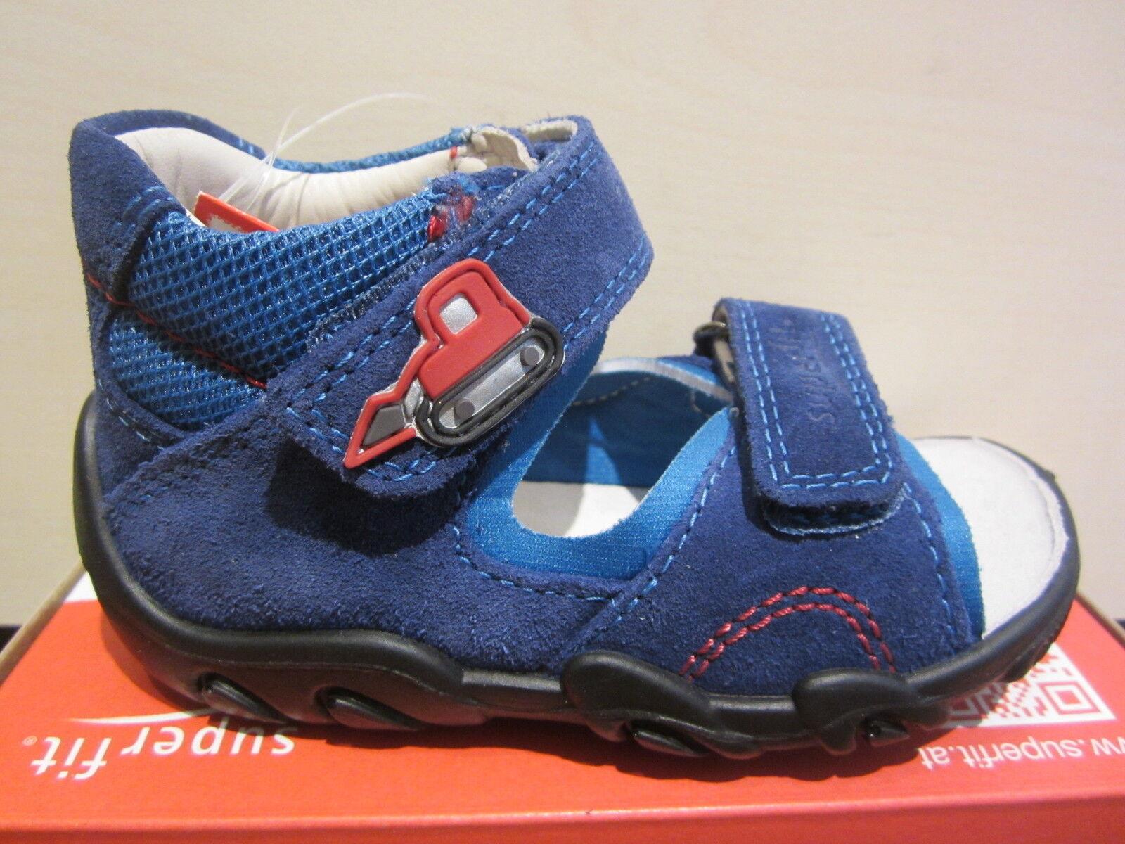 Superfit LL-Sandale blau KVLederfußbett Neu