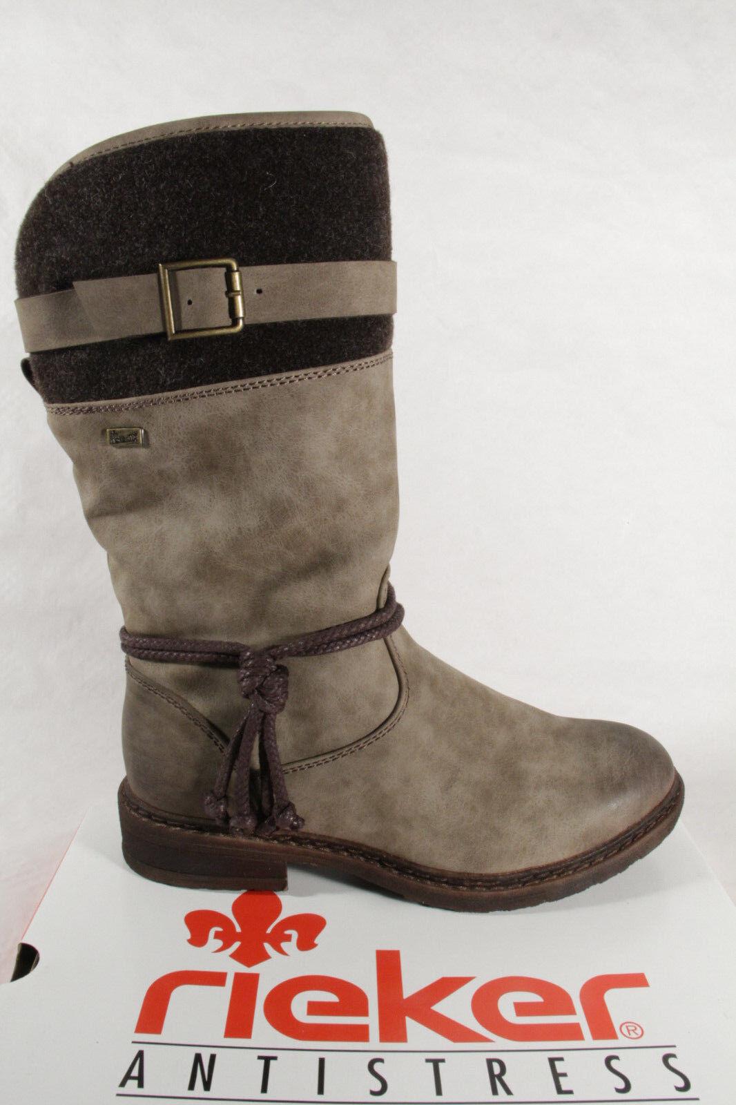 Stiefel Wasserdicht Stiefelette Tex 94778 Boots Winterstiefel Braun Rieker Neu ZkiuOPXT