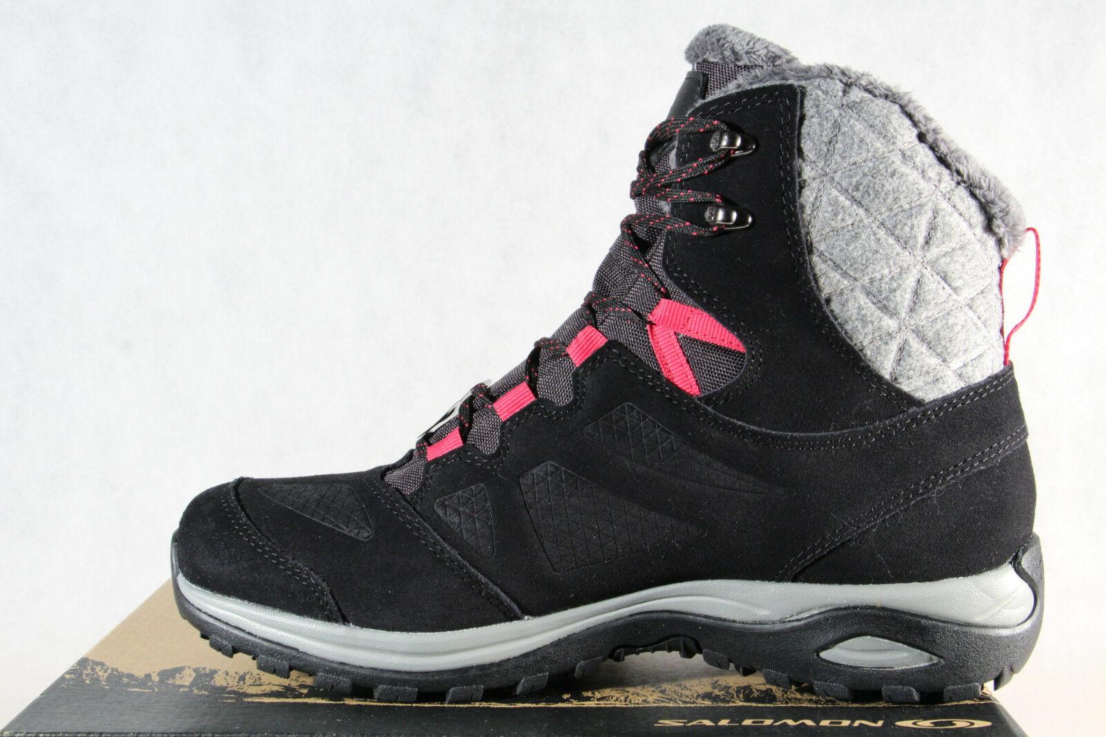 Salomon ELLIPSE WINTER GTX Stiefel 404699 Boots schwarz wasserdicht Gore Tex NEU