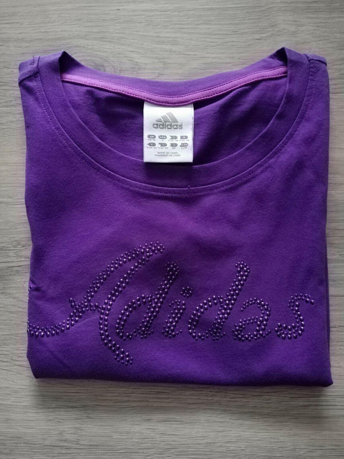 Adidas T Shirts Tops Set Damen blau lila hellblau Shirt Top Frauen Sport NEU!