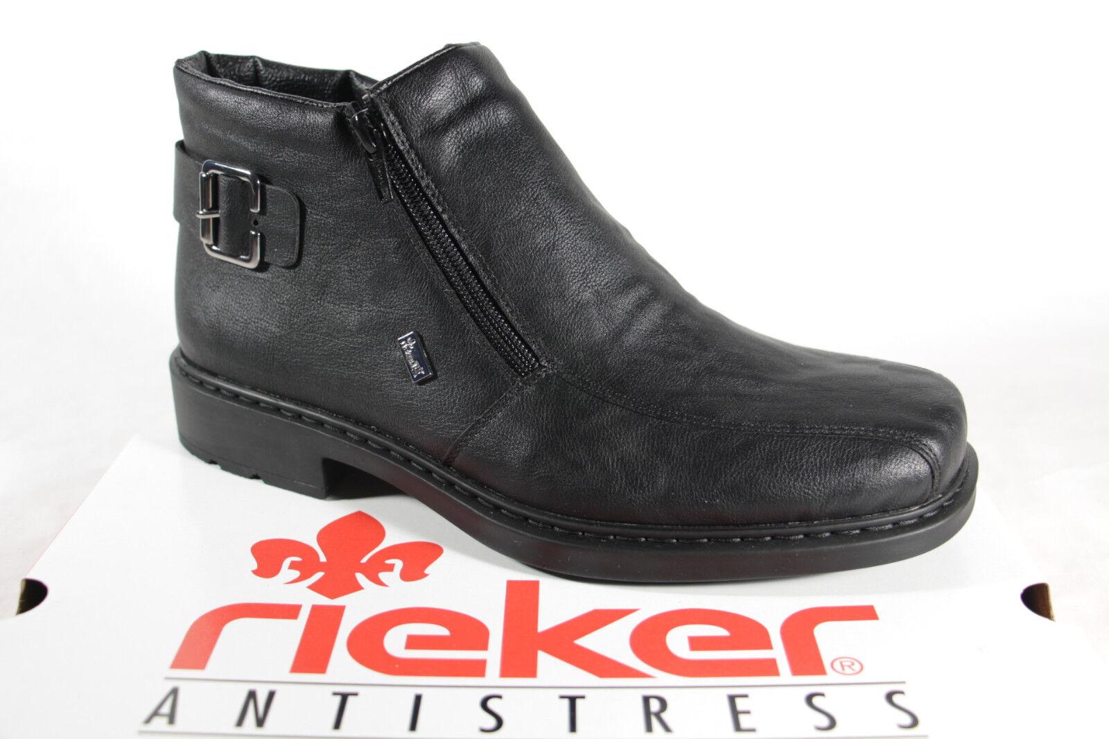 Herren Stiefelette 32861 Stiefel Rieker Stiefeletten Neu Schwarz Boots Tex YDWEHb9e2I