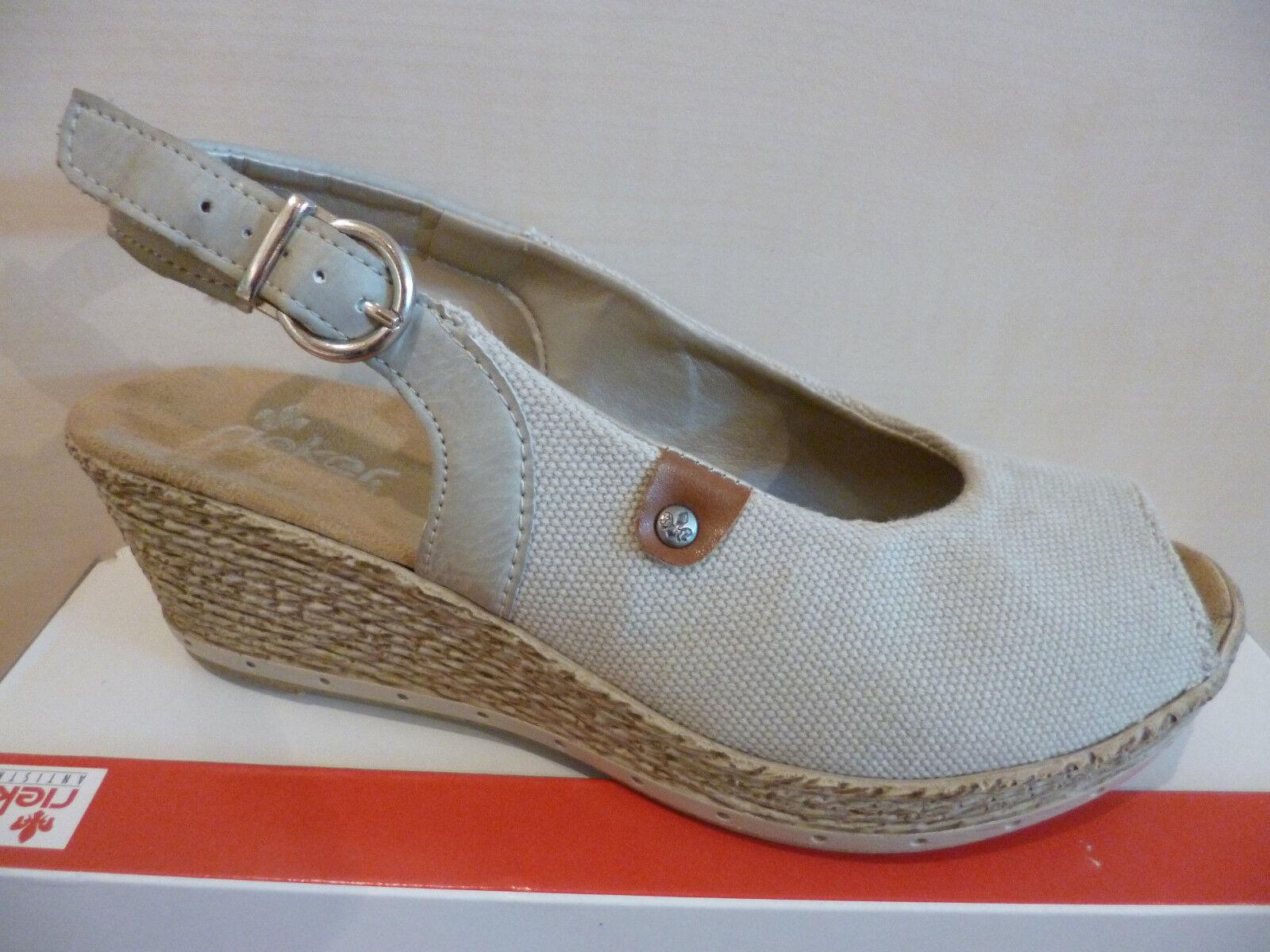 Rieker Damen Sandale Sandalen Sandalette Sandaletten Sling qdZ0e