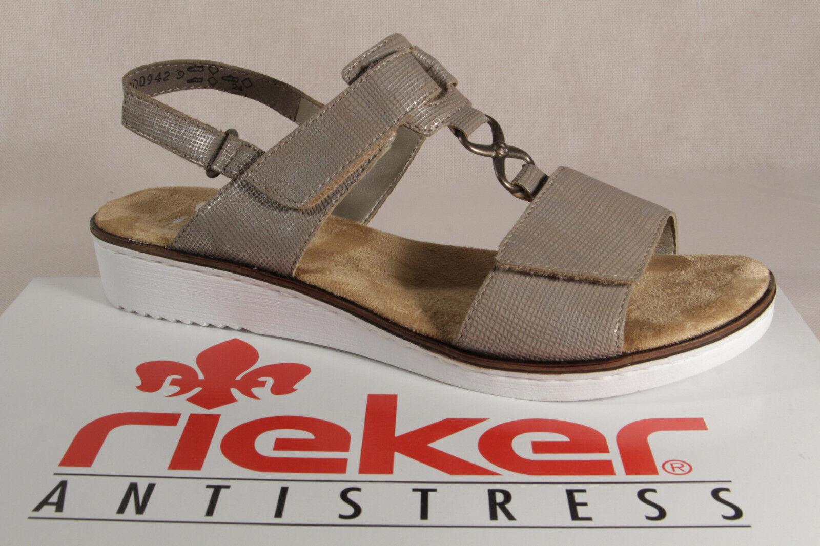 4ec8d705961d63 Rieker Damen Sandalen Sandaletten beige