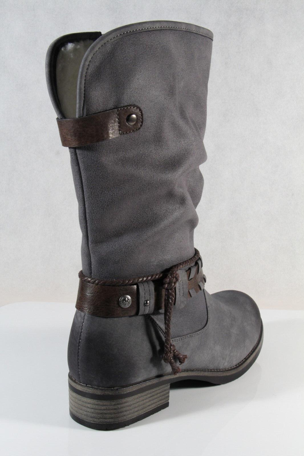 Rieker Stiefel Stiefelette Boots Winterstiefel 98861 grau NEU!!