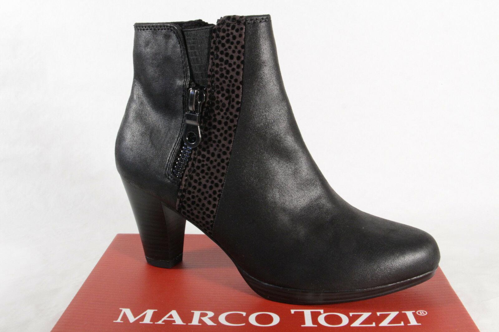 Marco Tozzi 25338 Damen Stiefel Stiefelette Boots schwarz NEU!