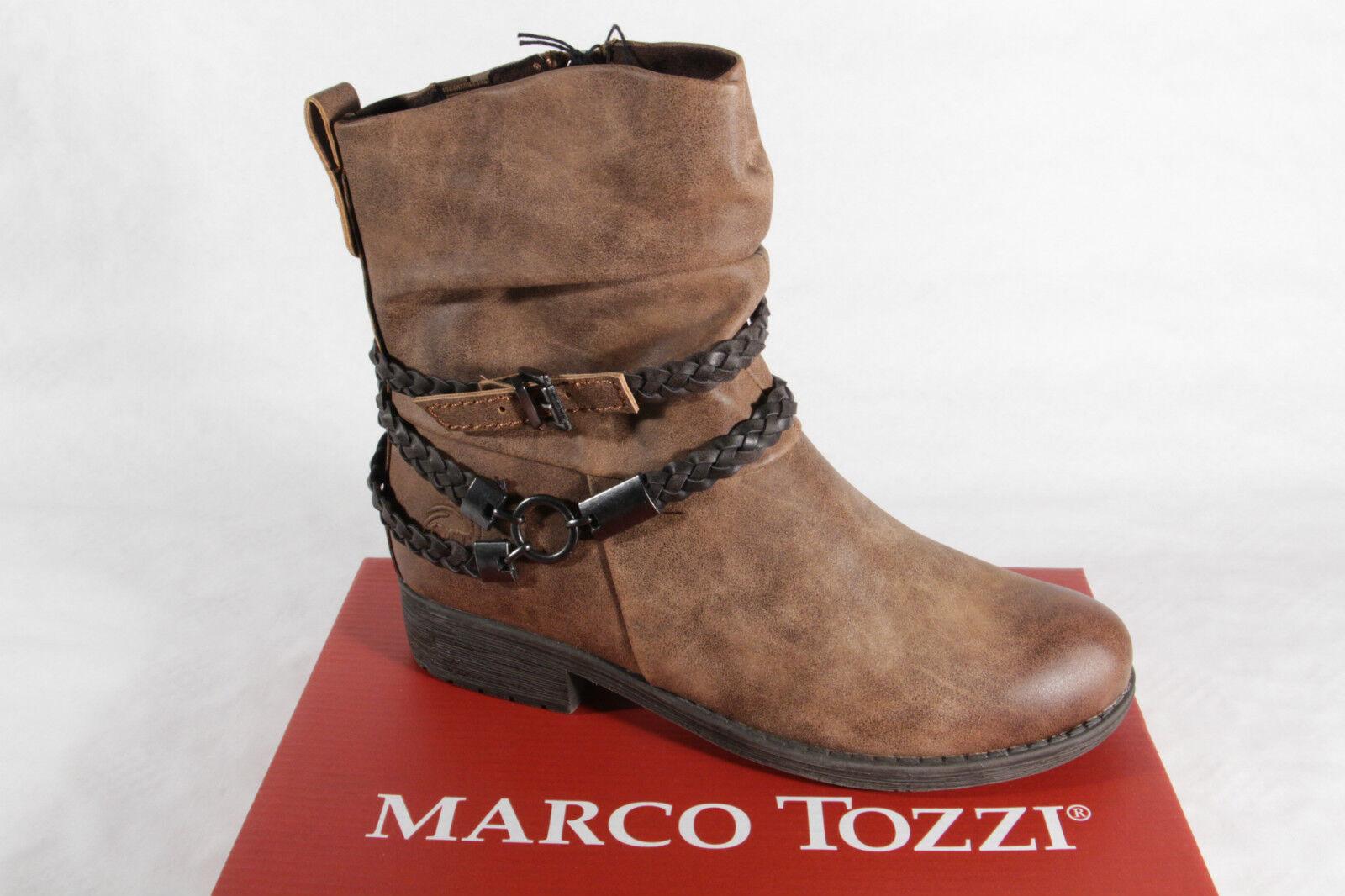 Marco Tozzi Stiefel, Stiefel, braun, gefüttert, RV 46404 NEU