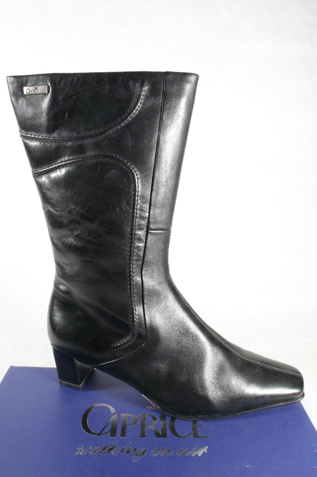 quality design 75a16 46e5d Caprice Damen Stiefel schwarz Echtleder Neu!!!