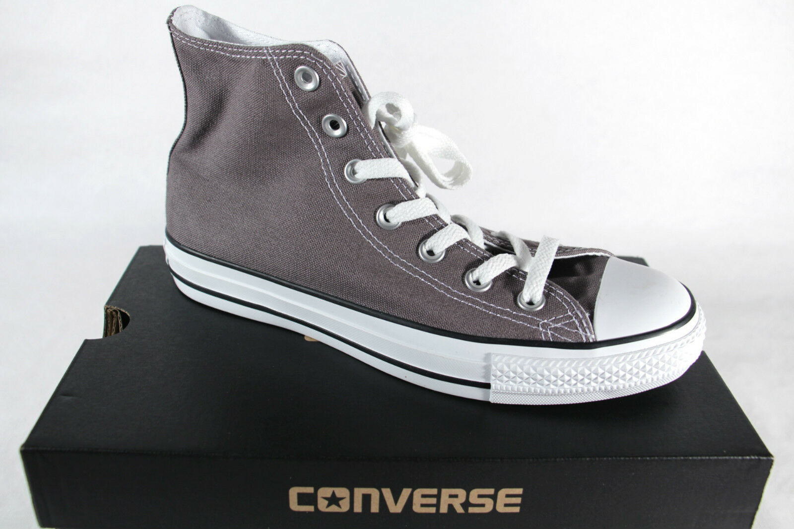 Converse All Star Stiefel, grau, Textil  Leinen, Neu