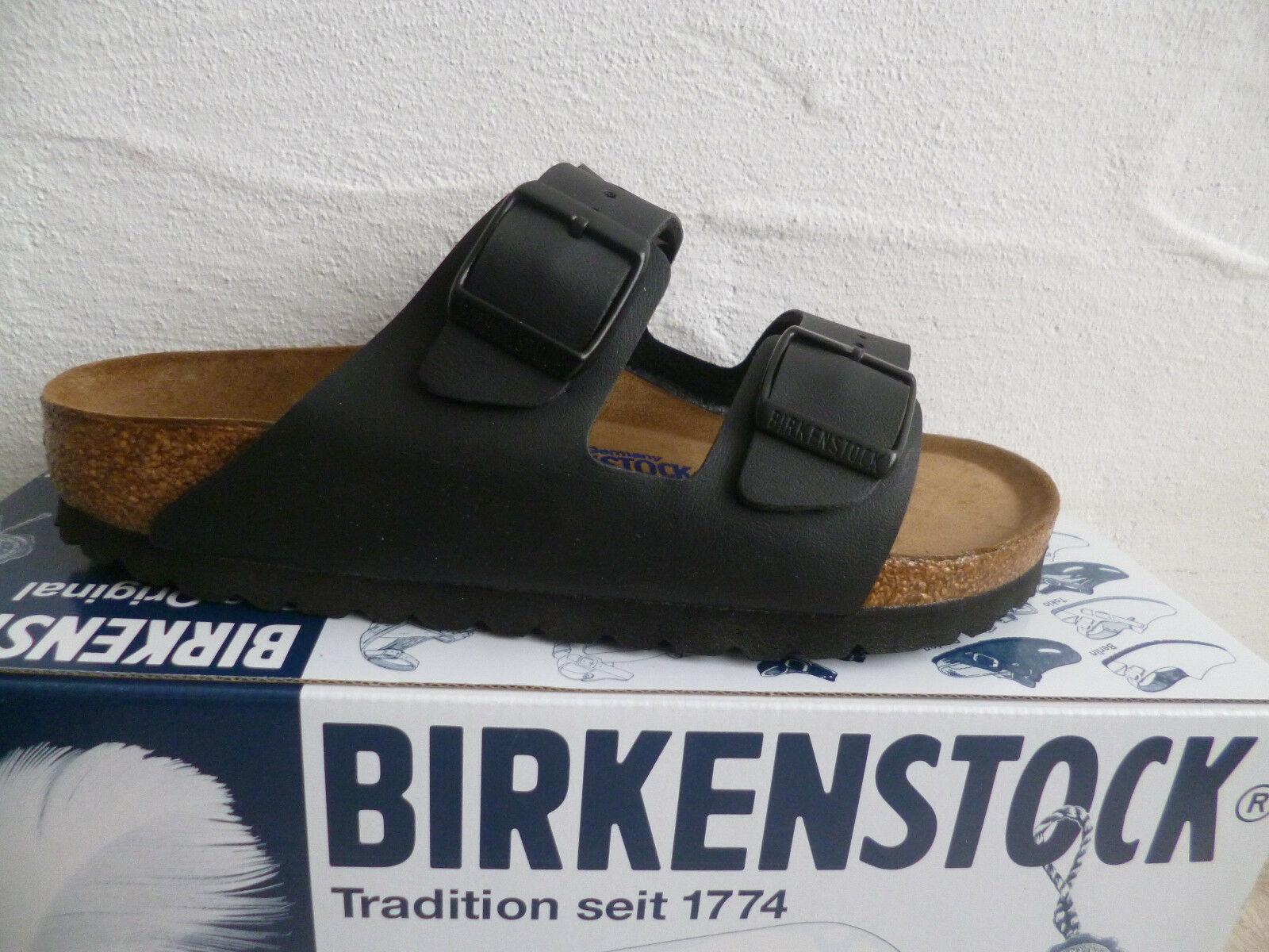 Birkenstock Pantolette Pantoletten Pantoffel Hauschuhe schwarz 0551253 NEU!