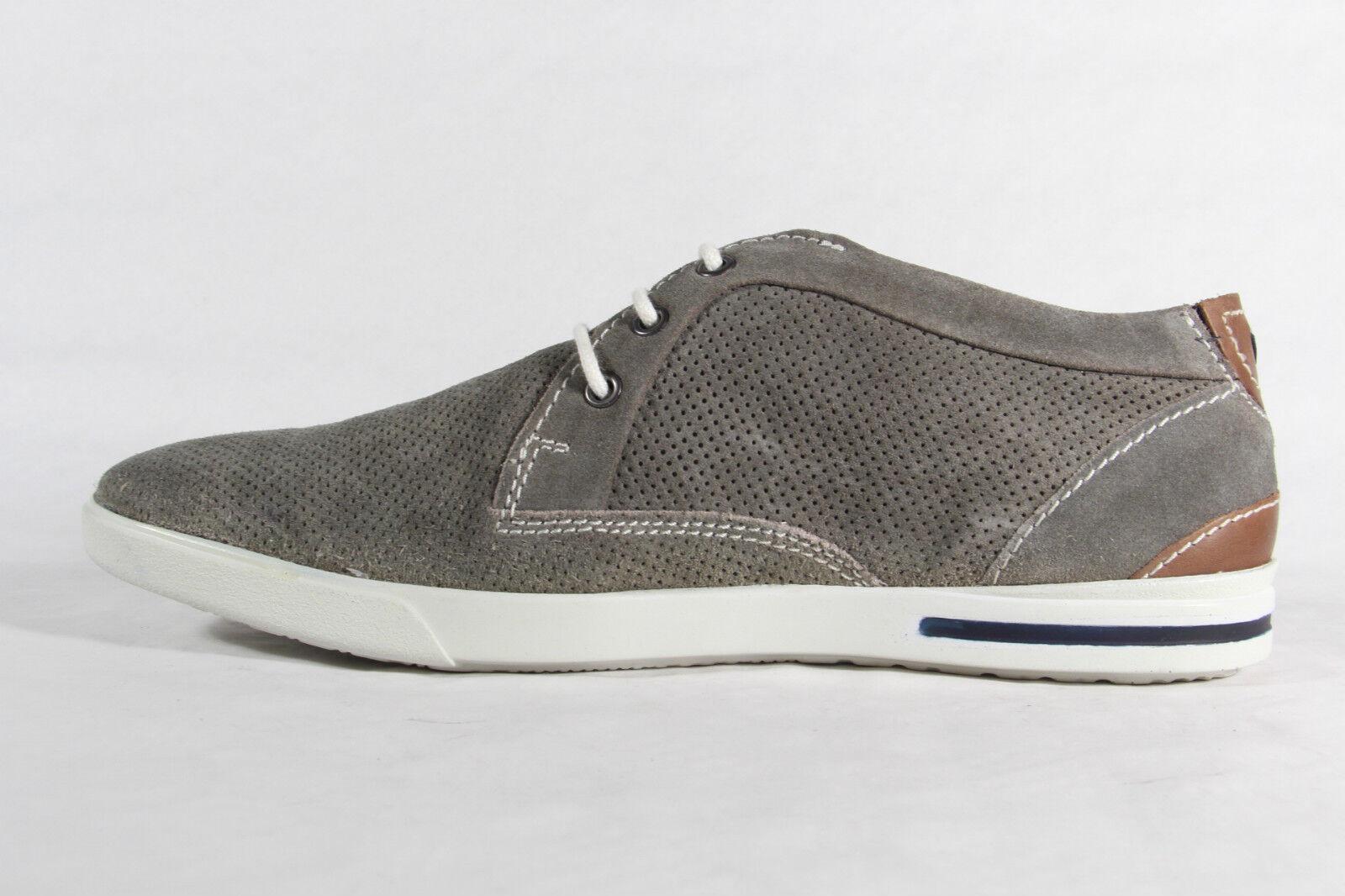 sale retailer 75139 b5e5b S.Oliver Herren Schnürschuh Sneaker grau, Echtleder, Gummisohle, NEU!!