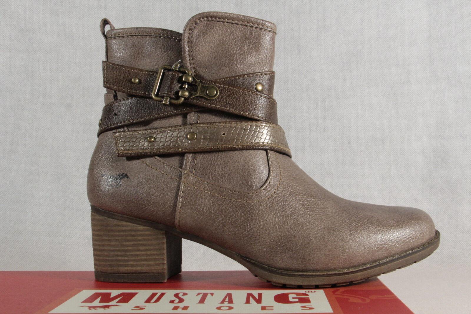 MUSTANG Damen Stiefel Stiefel & Stiefeletten, Beige (Taupe