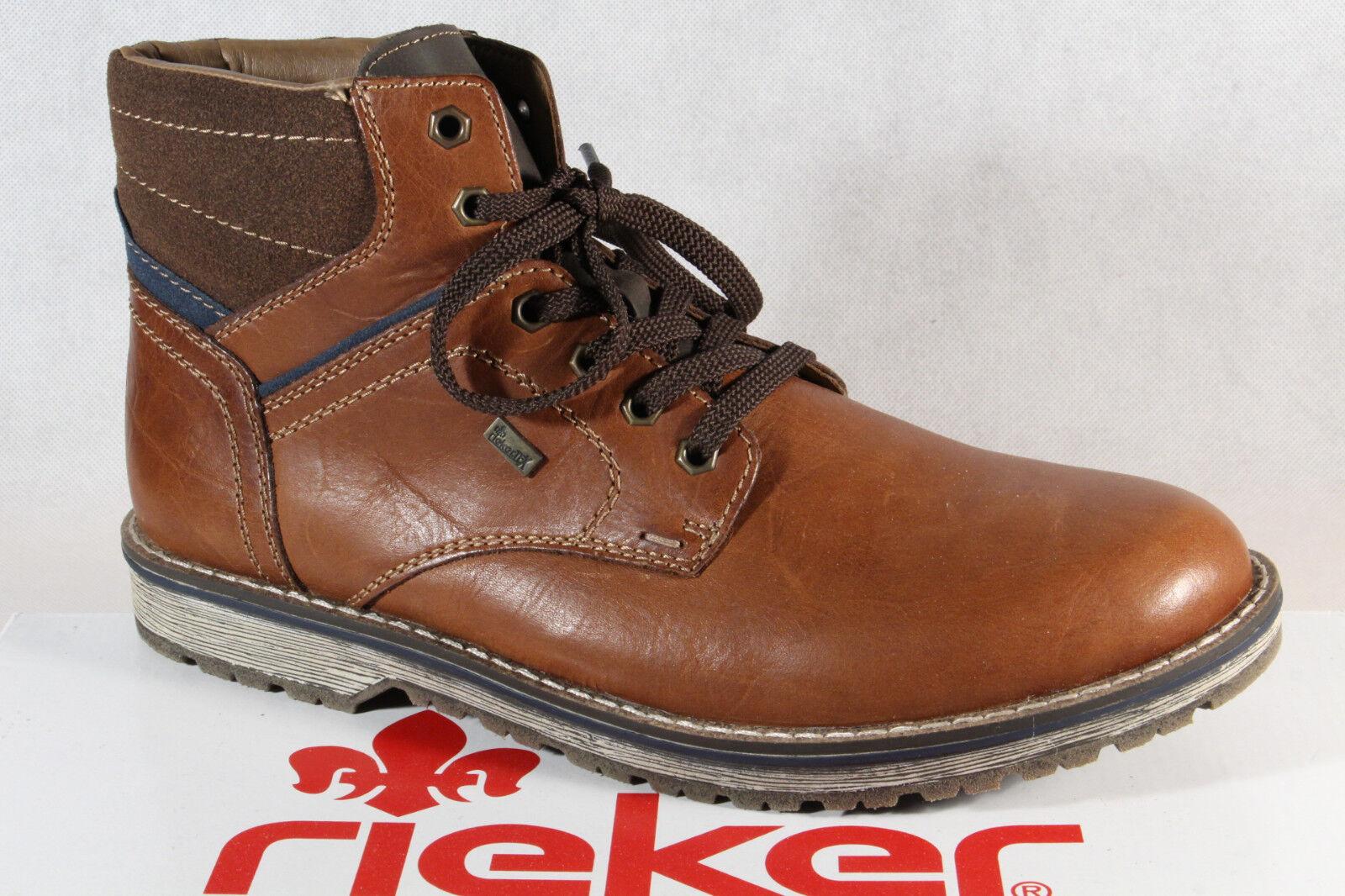 Neu Rieker Tex Boots Herren Braun | Online