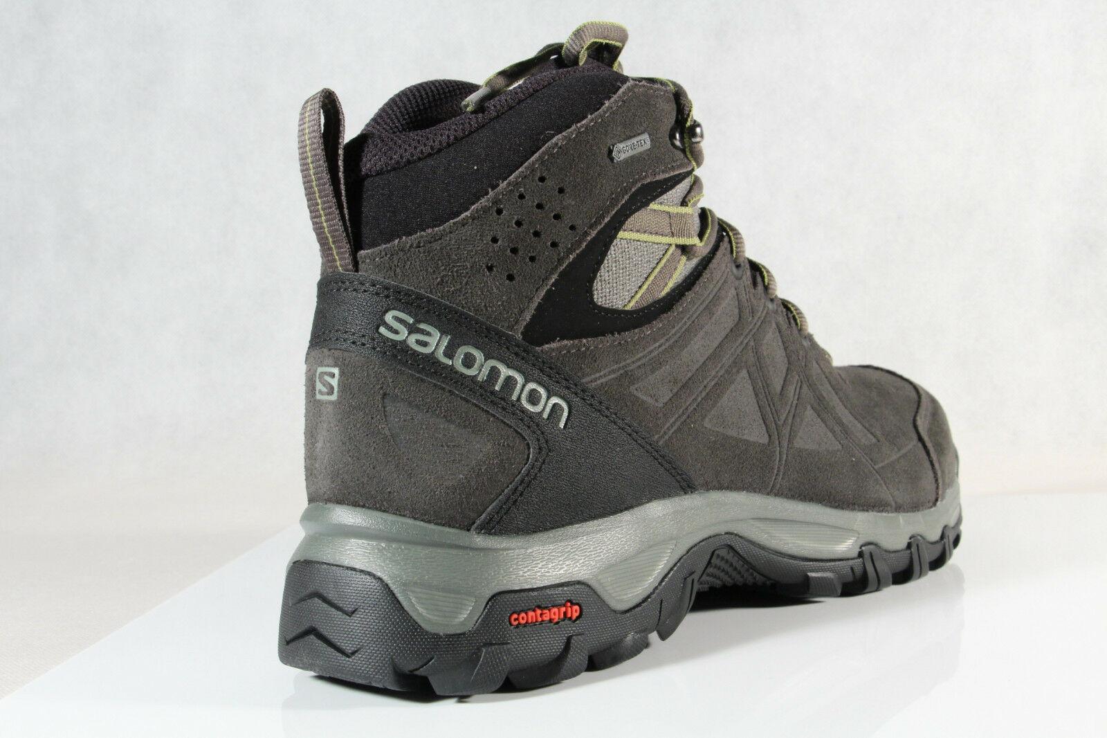 Salomon Evasion 2 MID LTR GTX Stiefel Boots grau wasserdicht Gore Tex NEU
