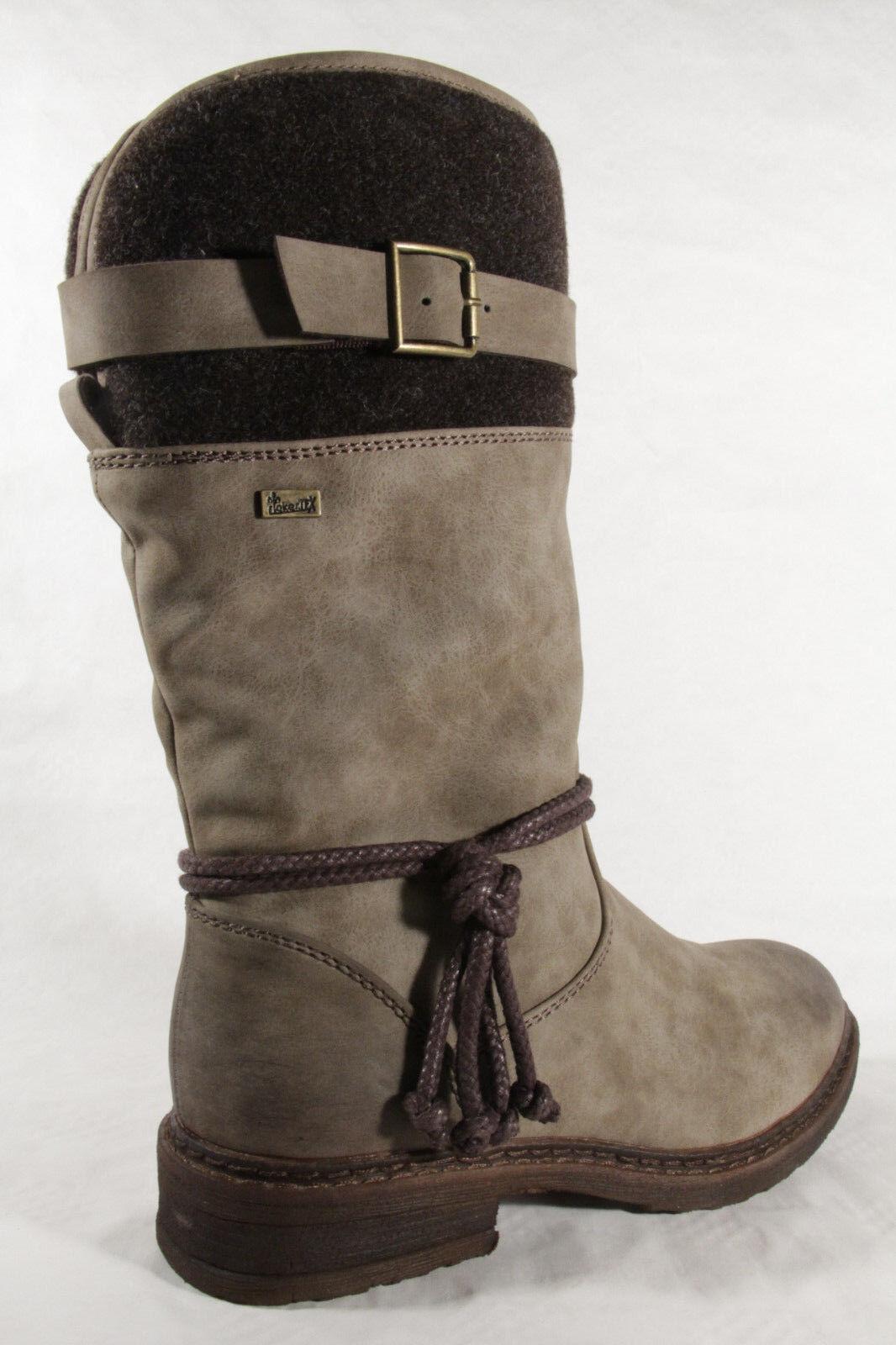 hot sale online d72bc aeea2 Rieker Stiefel Stiefelette Boots Winterstiefel TEX braun 94778 wasserdicht  NEU!