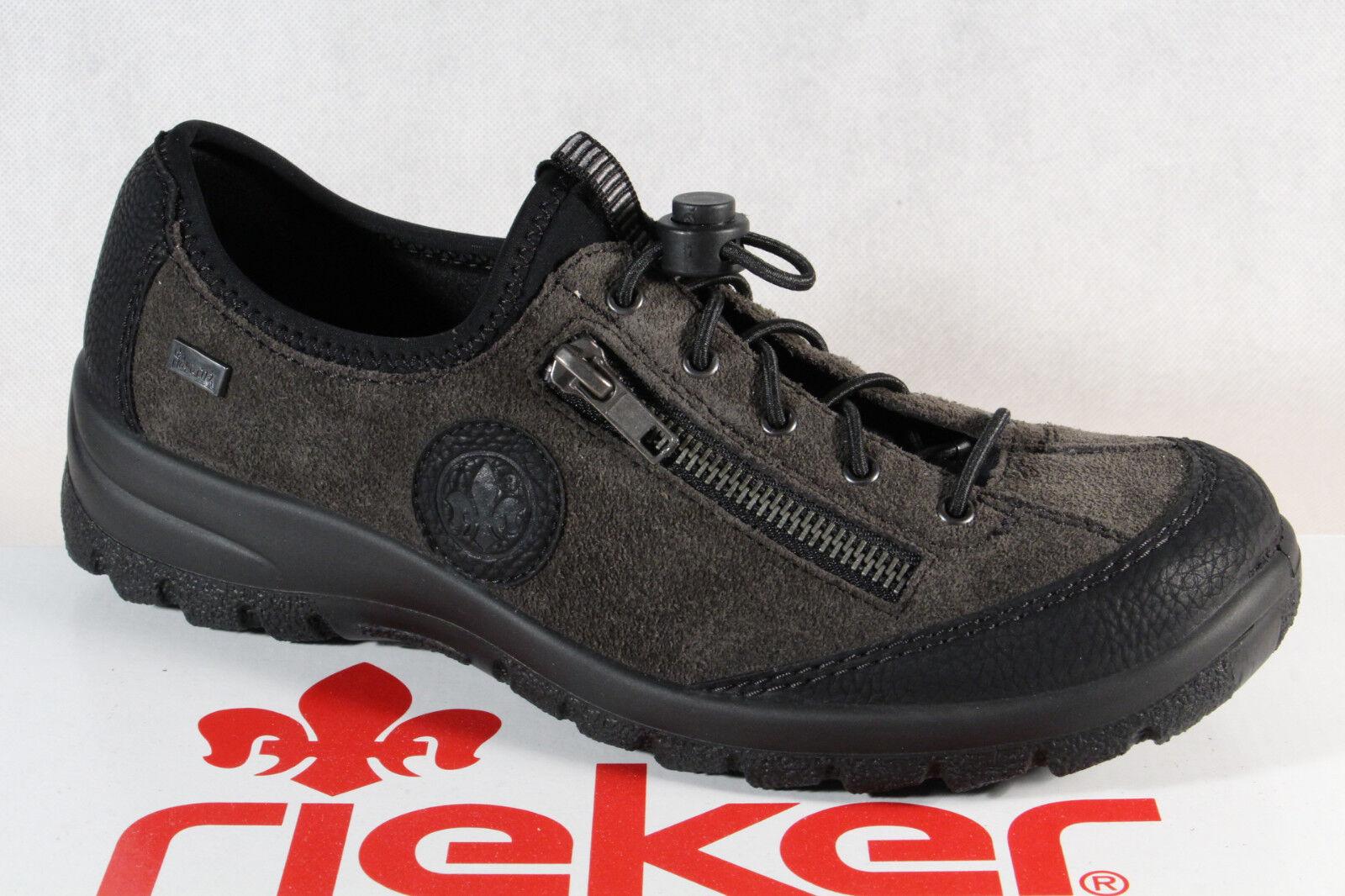 Rieker Damen Slipper Halbschuhe Sneaker Leder Neu!!!