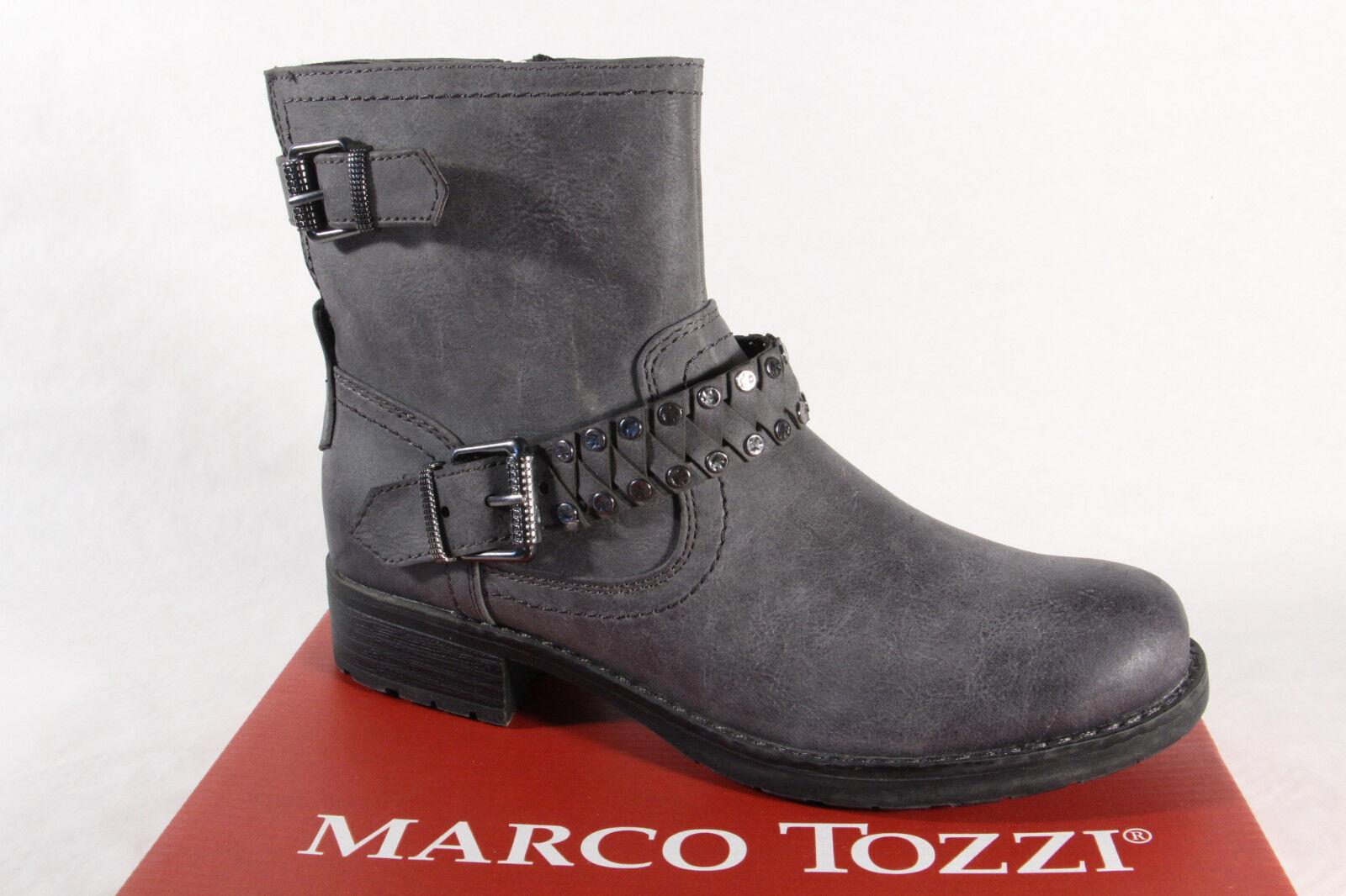 Marco Tozzi 25800 Damen Stiefel, Stiefelette, Stiefel grau 25800 NEU