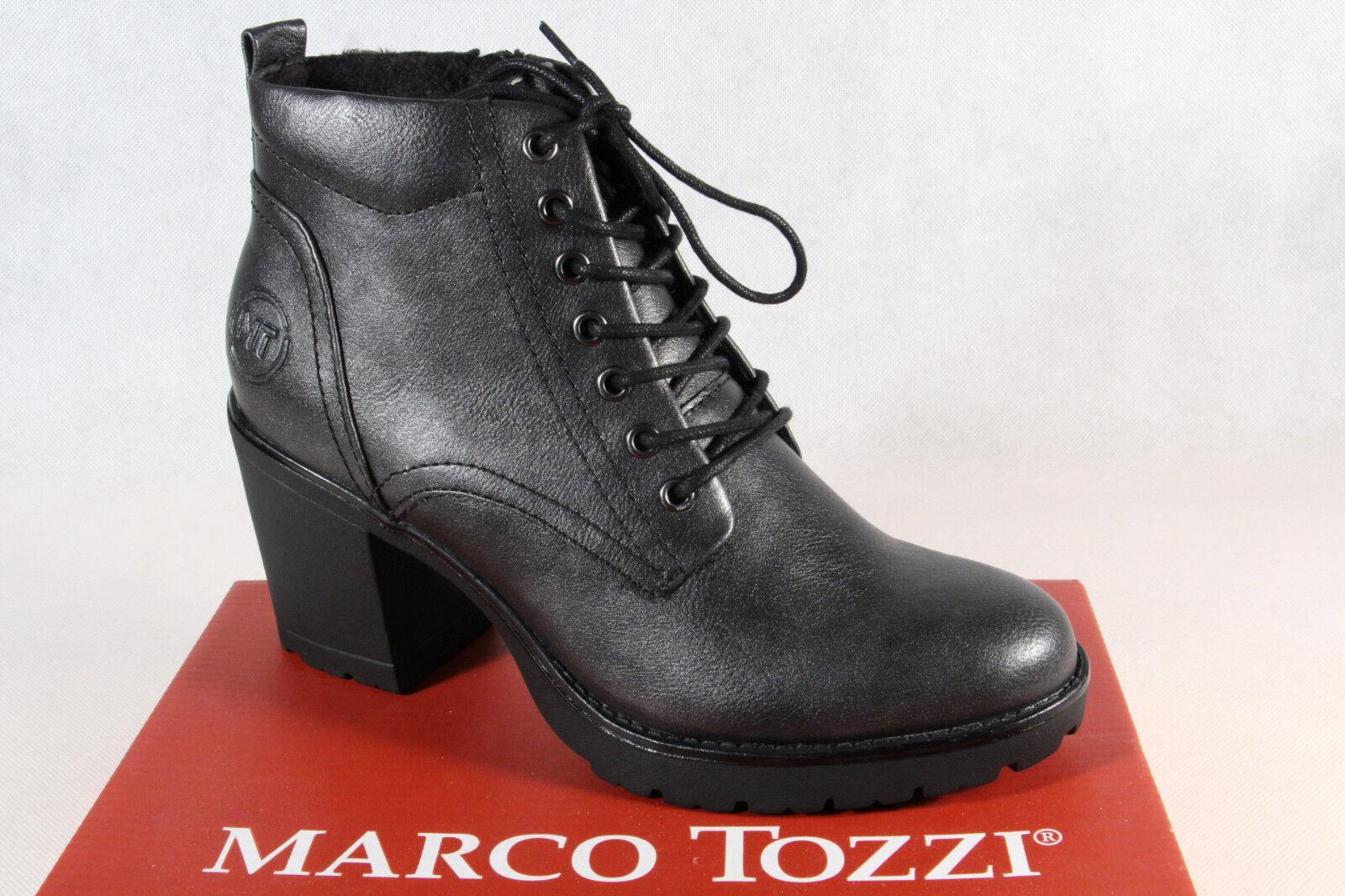 new arrival c2ea6 11c3b Marco Tozzi Stiefel Stiefelette Boots Winterstiefel grau 25204 NEU!!