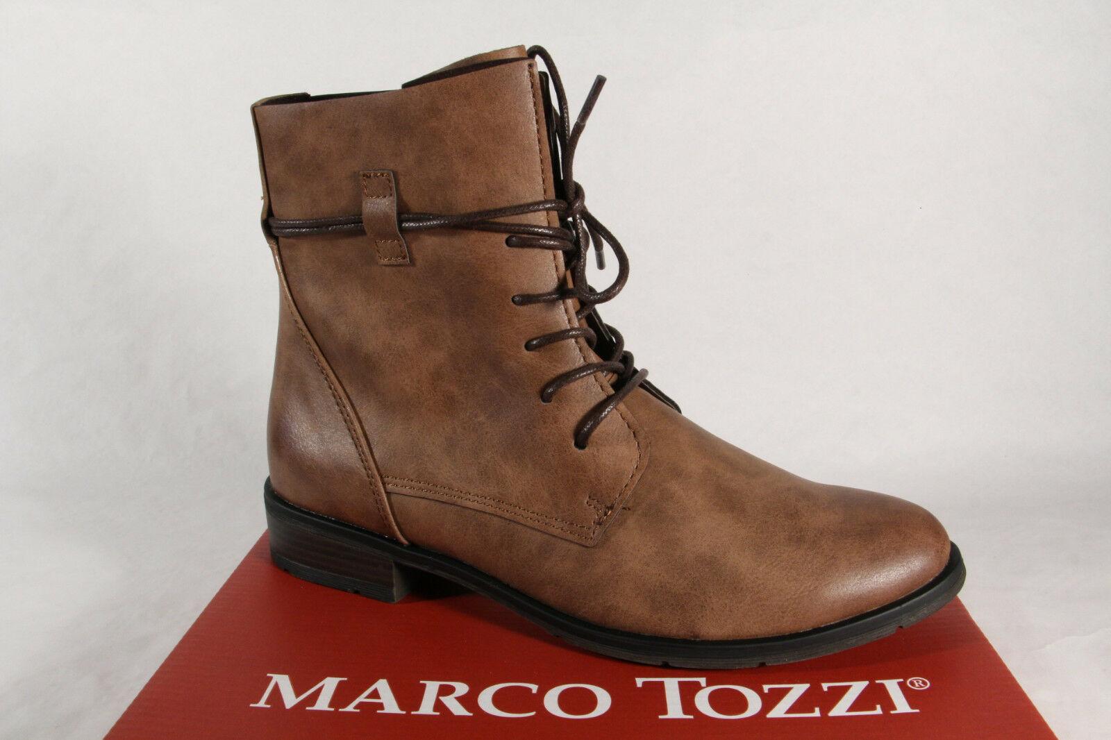 pretty nice 27908 ae2cd Marco Tozzi Damen Stiefel 25110 Stiefeletten Boots Schnürstiefel braun NEU!