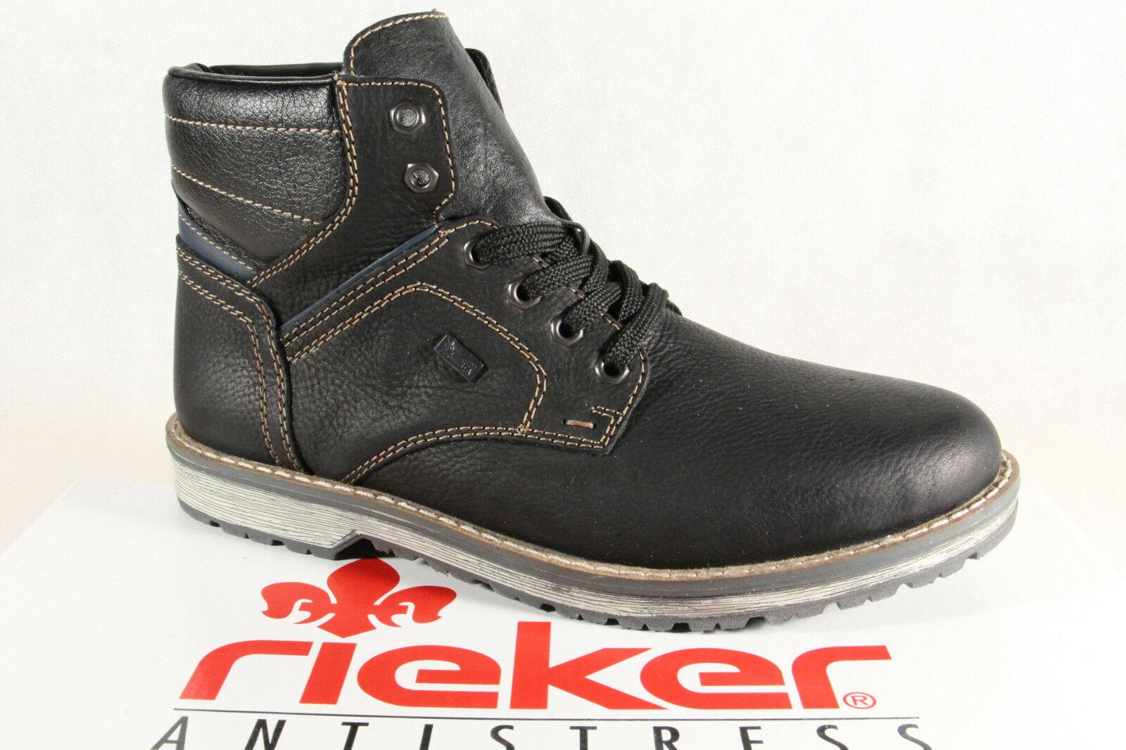 Rieker TEX Herren Stiefel Schnürstiefel Boots Echtleder 39223 NEU ... d1e6d5aab5