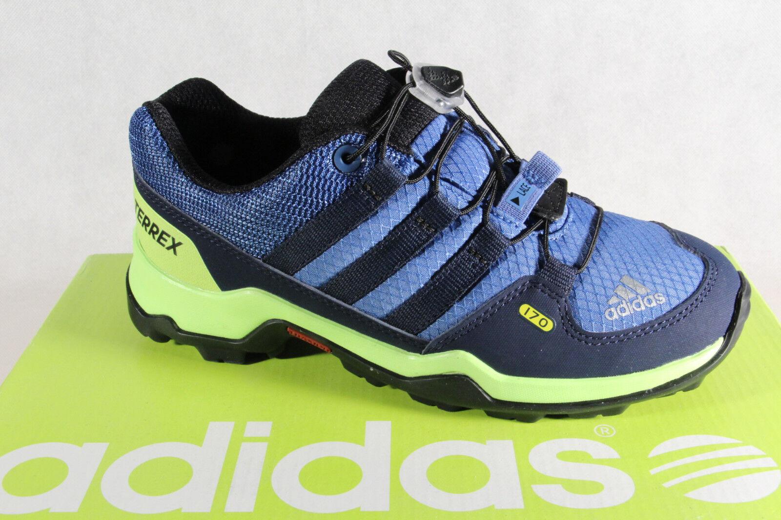 Adidas Terrex K Outdoorschuhe Wanderschuhe Sportschuhe blau grün NEU!
