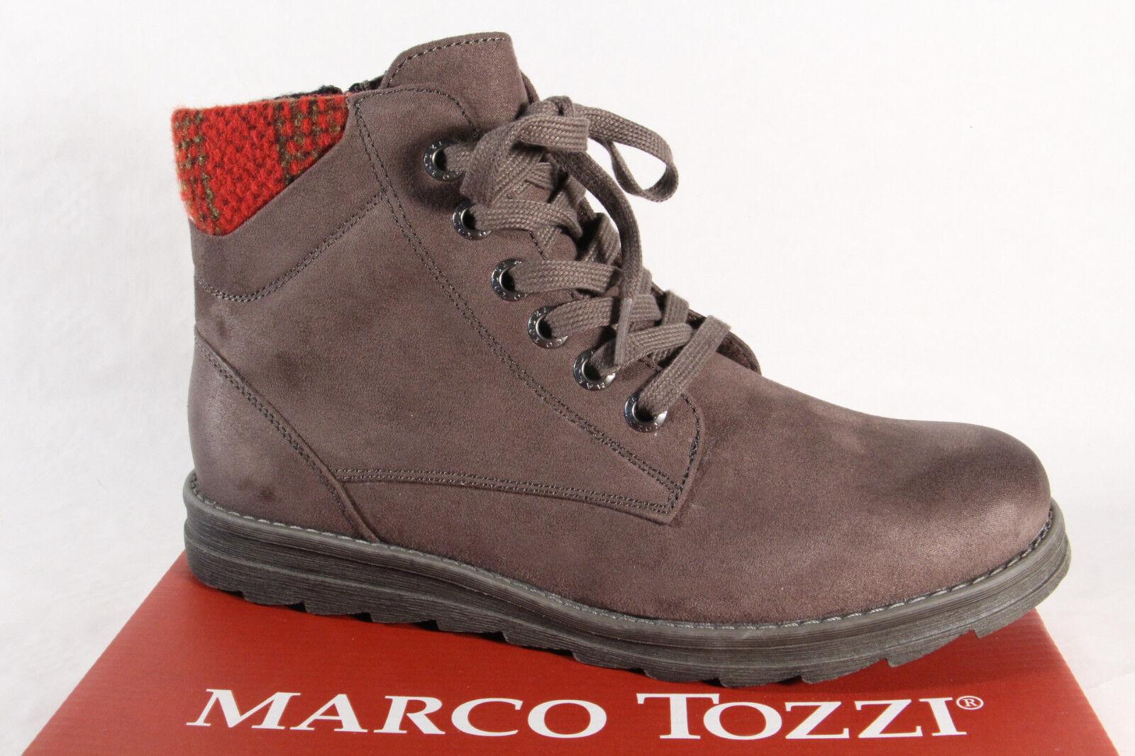 Marco Tozzi 25208 Damen Stiefel, Stiefelette, Stiefel grau NEU