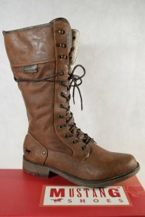 Mustang Stiefel Stiefeletten Schnürstiefel Boots braun 1295 NEU!
