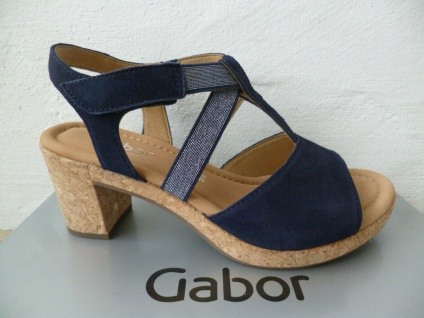 Ara Sandalen Sandaletten Sandale blau Echtleder Weite H NEU