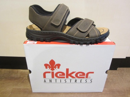 Rieker 25051 Sandalen Sandaletten braun Klettverschluss 25051 Rieker NEU 77bee9