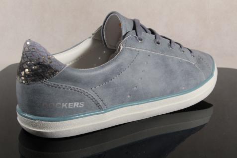 Dockers Schnürschuh Schnürschuh Dockers Sneaker Halbschuh hellblau NEU!! 164e53