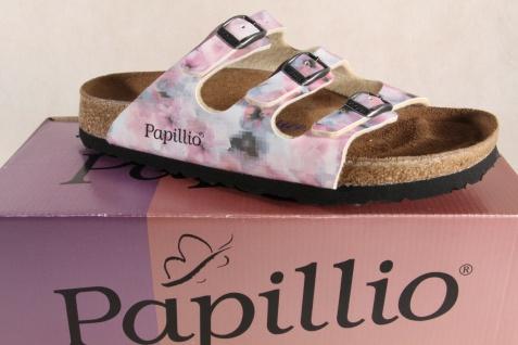 Birkenstock Papillio Damen Pantoletten, rose/multi 004192 Softfußbett NEU!