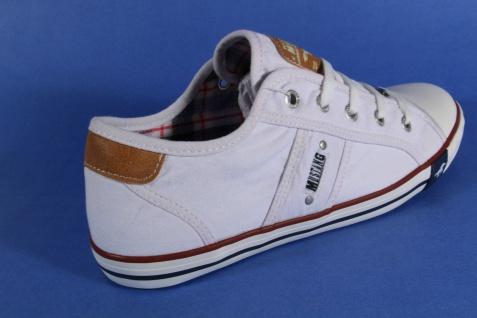 Mustang Schnürschuhe Sneaker Sportschuhe 1099 Halbschuhe weiß 1099 Sportschuhe NEU 877c16
