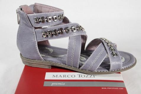 Marco Tozzi Mädchen Sandale Sandalen Sandalette Sandaletten hellblau/lila NEU!!